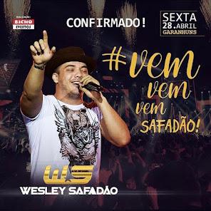 WESLEY SAFADÃO EM GARANHUNS - PE