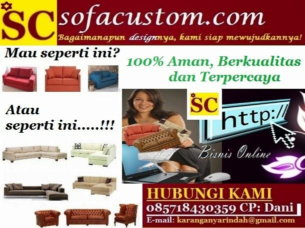 Jasa Pembuat Sofa Custom