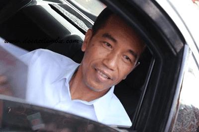 Jokowi dan Paspamres di peresmian BPJS