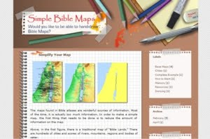 Simple Bible Maps