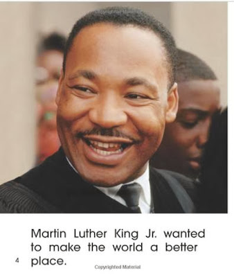 sample page #1 of bookcover of Martin Luther King, Jr. Day (First Step Nonfiction) by Robin Nelson