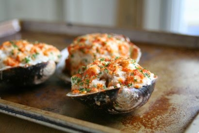 Stuffed Baked Clams