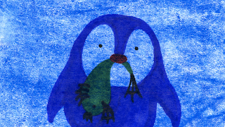 penguin, animation, still, orpheus | jen haugan