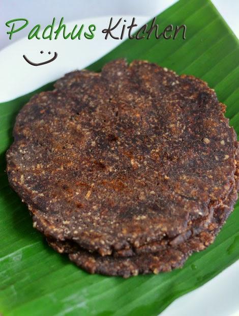 Ragi Sweet Adai-Kezhvaragu Adai