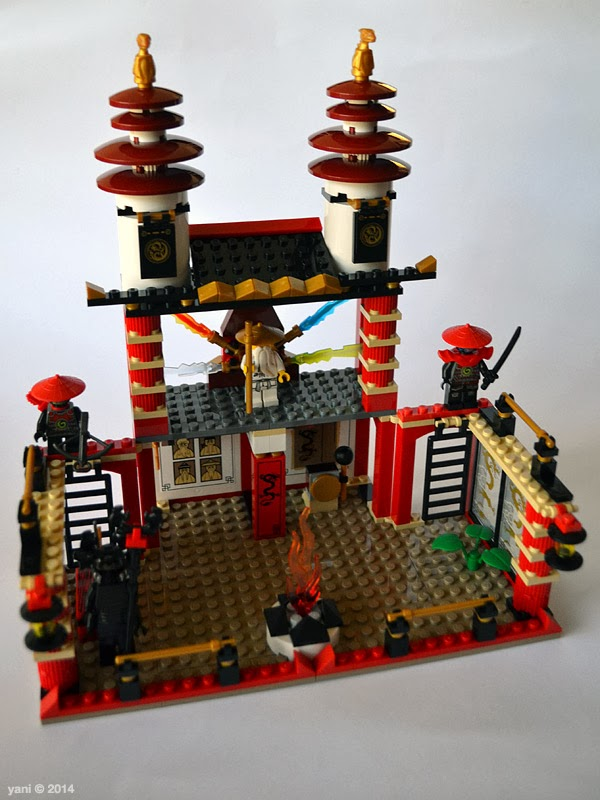 lego ninjago temple of light - the temple