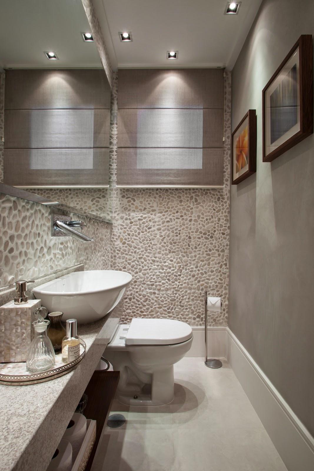 é tendência na decoração – veja ideias em ambientes internos  #3C3028 1067x1600 Banheiro Com Jardim Interno
