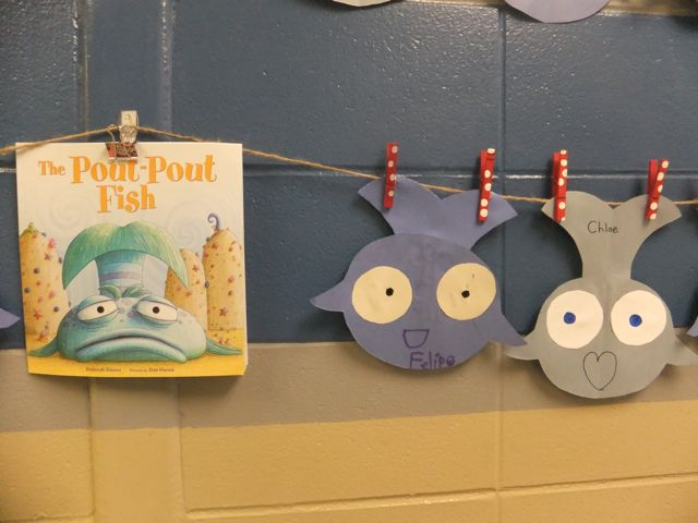 First grade blue skies the pout pout fish freebie for The pout pout fish book
