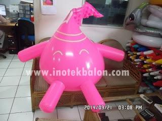 Balon karakter lucu