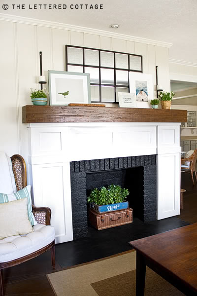 Decorating Ideas > Love Of Interiors Mantle Decorating ~ 160712_Empty Fireplace Decorating Ideas