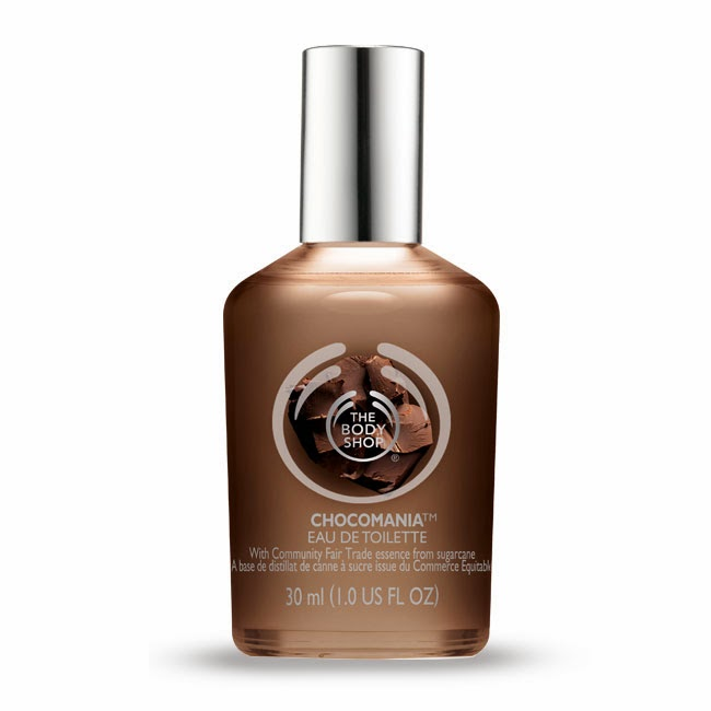 Novo Perfume da The Body shop complementando a linha: Chocomania EDT.