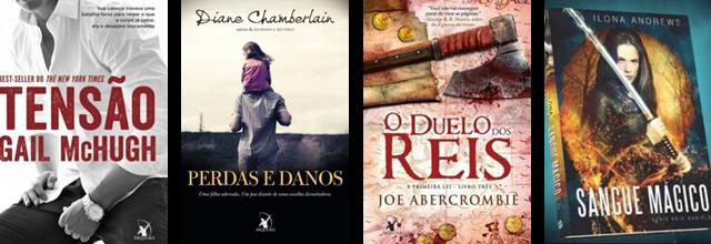 Lançamento de Livros - Fevereiro / Editoras Arqueiro e Saída de Emergência