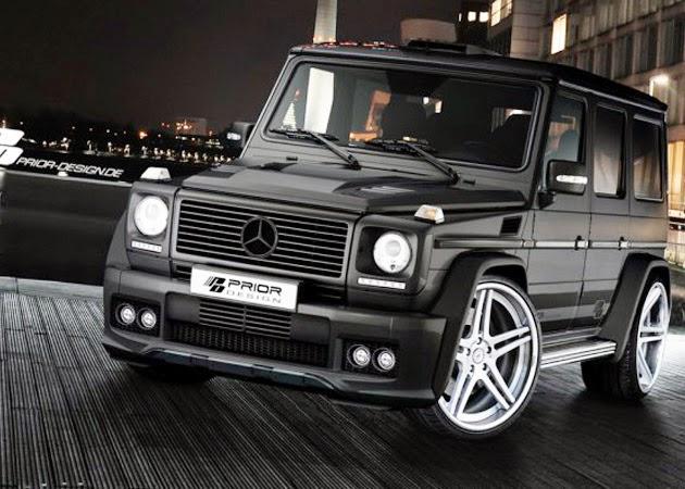 Gambar Mercedes jenis G - Class