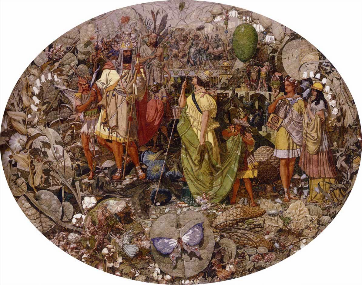 Richard Dadd, Contradicción: Oberón y Titania (1854-1858), colección particular