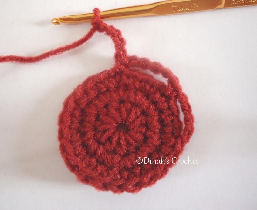 Dinah crochet sunflower size besar petal pertama kuning yellow ch2 dc 3 triple crochet cara kait tr crochet rujuk disini cara kait bahagian tajam kat tengah rujuk pic bawah ccuart Gallery