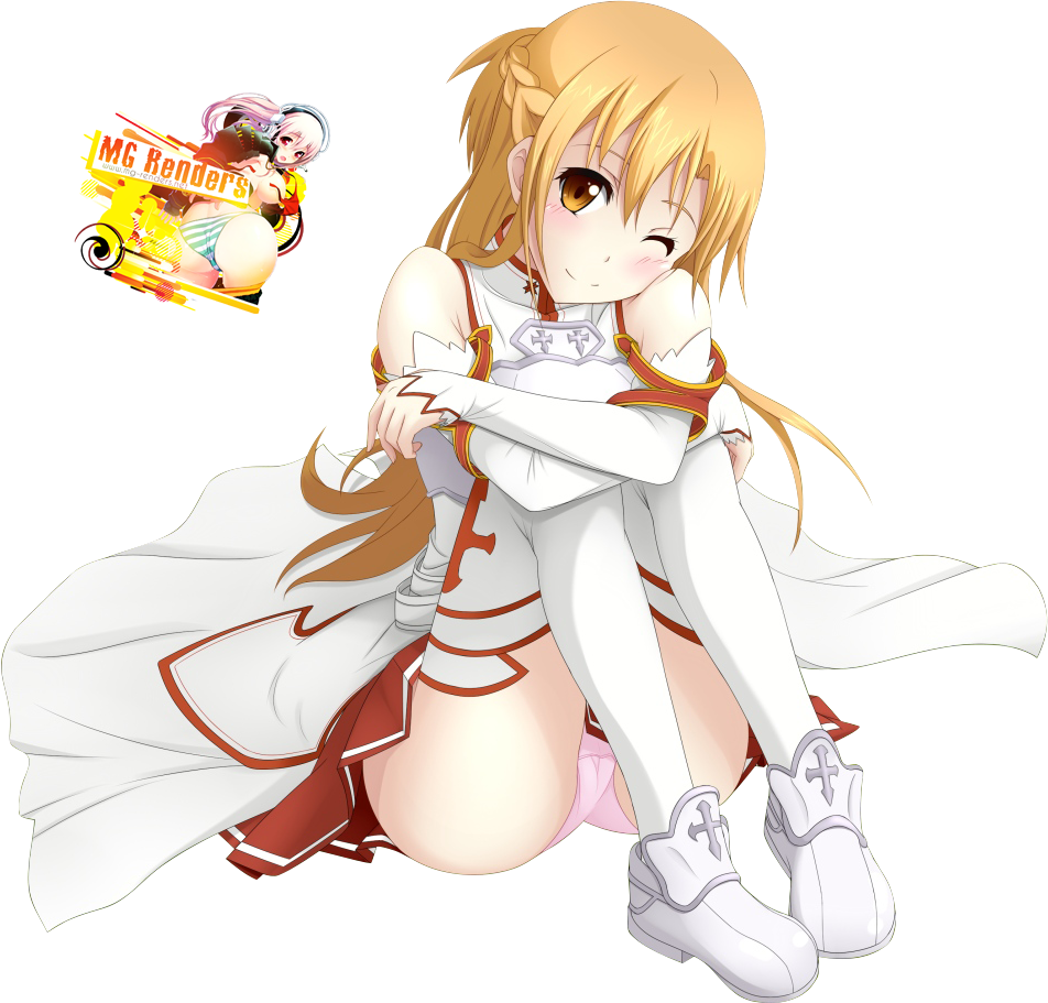 Tags: Anime, Render,  Sword Art Online,  Yuuki Asuna, PNG, Image, Picture