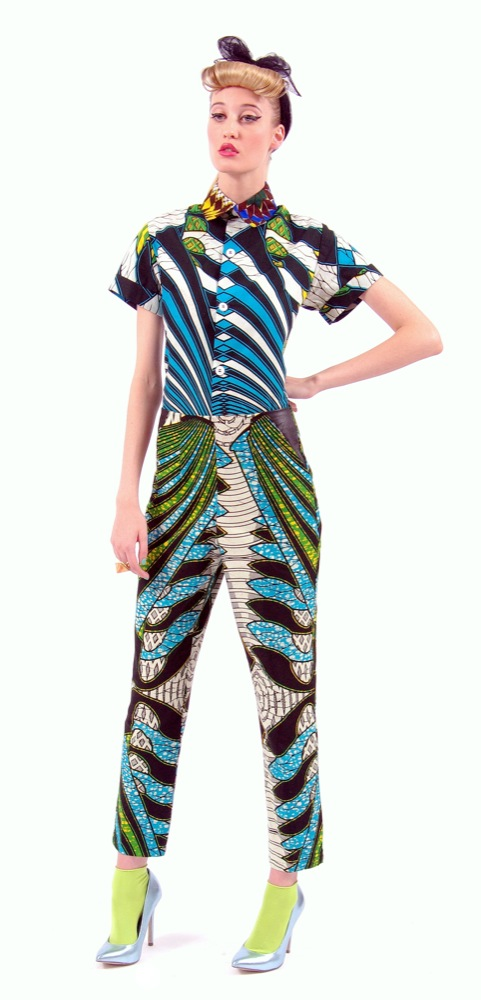 Boxing Kitten's Spring/Summer 2013 Collection ciaafrique pagne africain