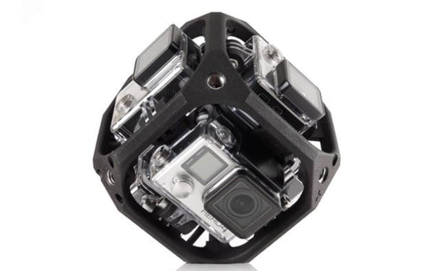 gopro esferica realidad virtual