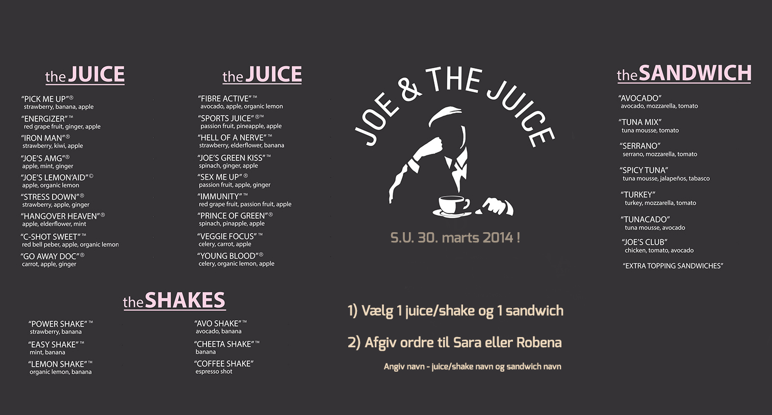 Joe and the juice sandwich