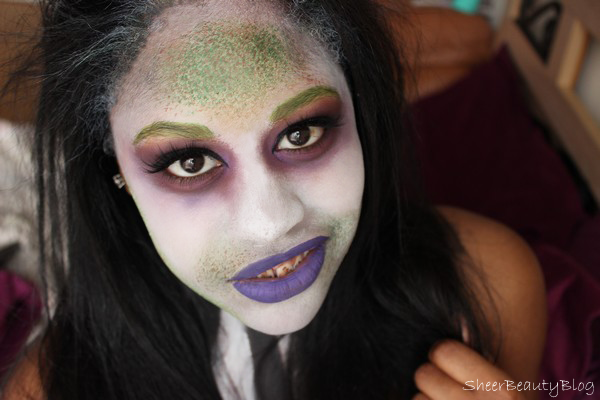 picture of halloween makeup