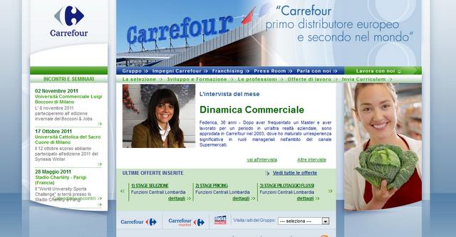 Lavora con noi Carrefour
