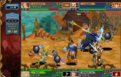 Dungeons & Dragons: Chronicles of Mystara Screenshots 1