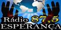 Radio Esperança 87,5 - O Melhor da Musica Evangélica
