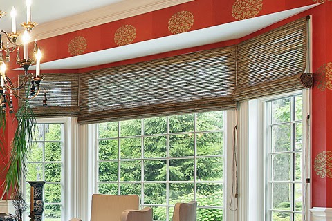 竹簾|是最佳的綠建築選材