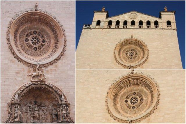 Fachada del Convento de San Francisco en Palma de Mallorca