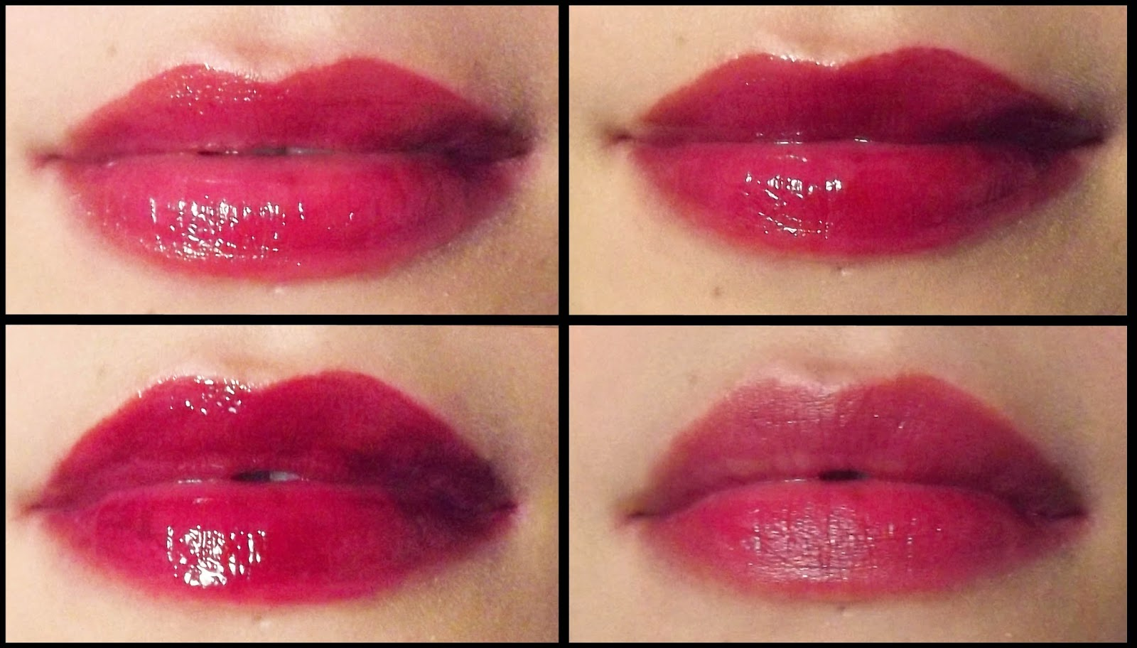 Etude House Mini Tint in Burgundy Pop p12 lip swatch