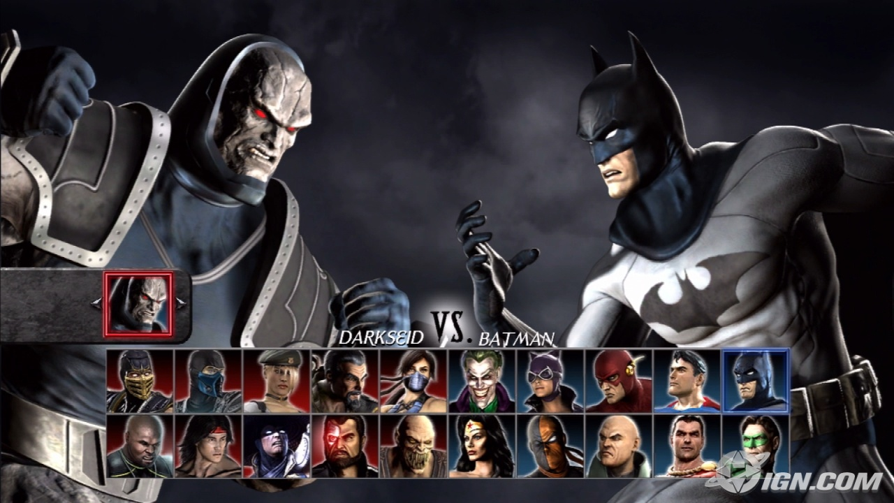 Mortal Kombat VS  DC Universe   Hidden Characters   PS3  Mortal Kombat Characters