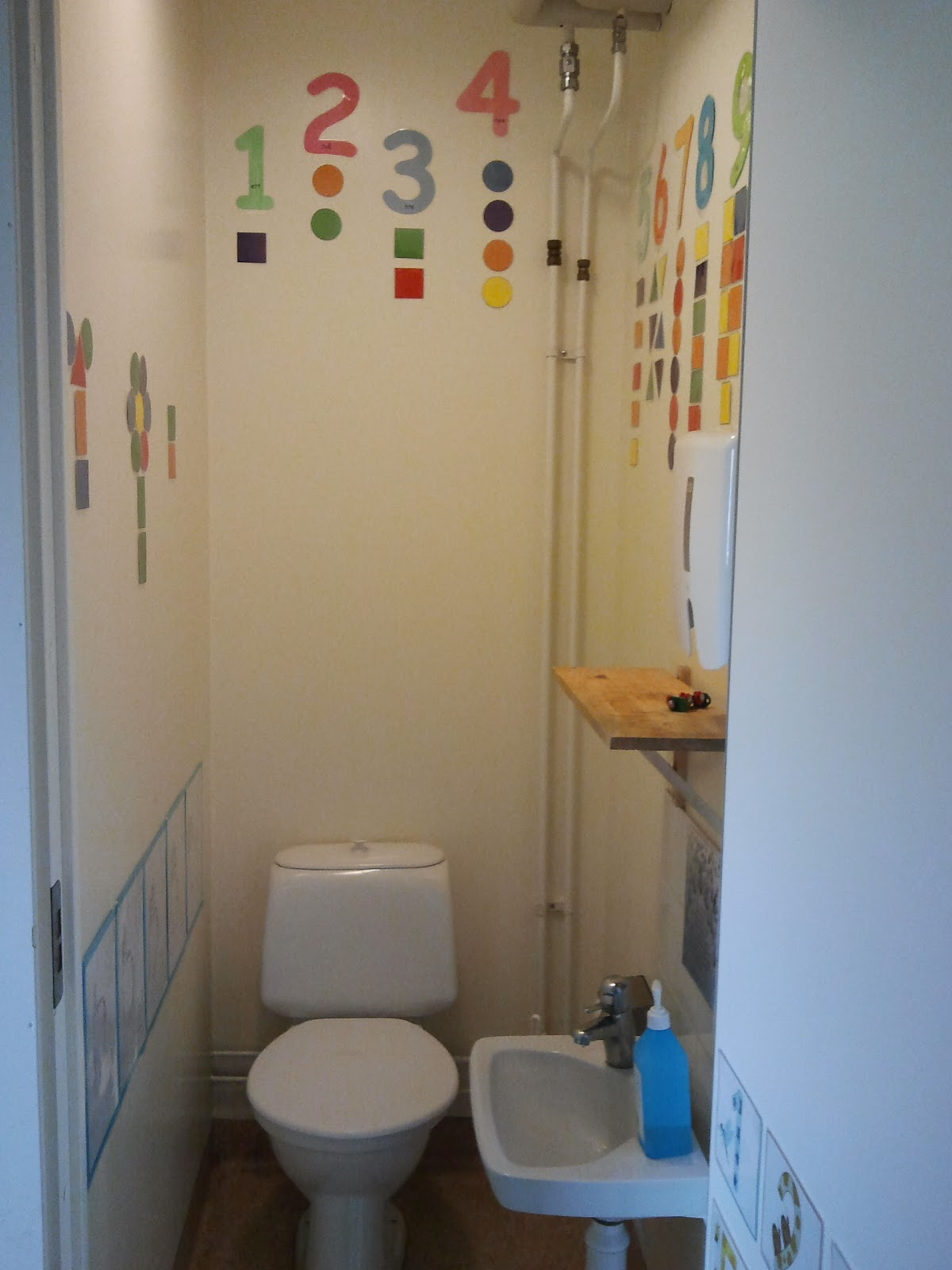Leka, lära, leva: matematik toalett