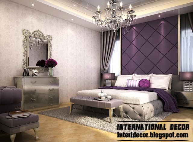 Bedroom Ideas with Purple Walls 640 x 470