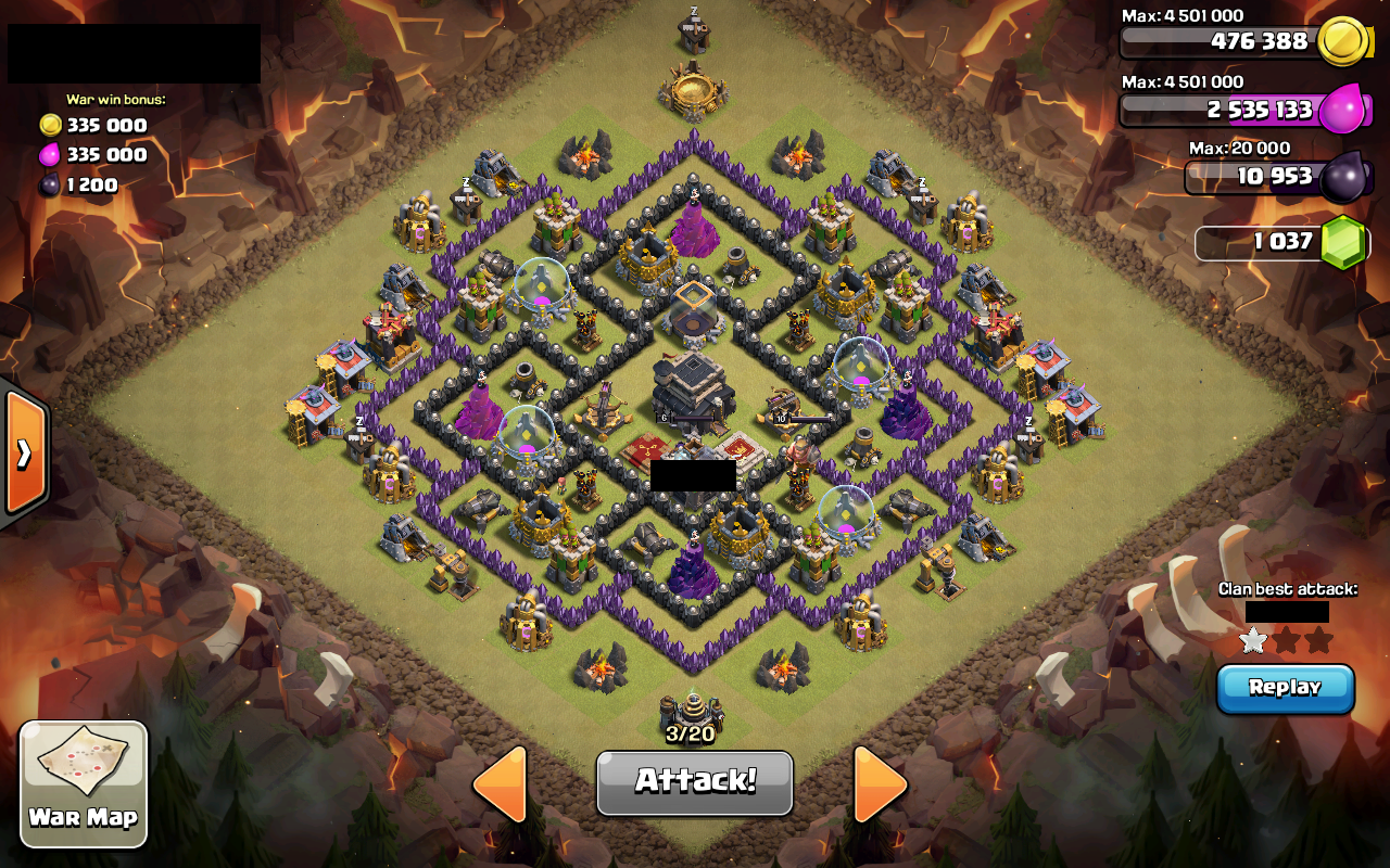Base trophy coc th 6 terkuat search results web design