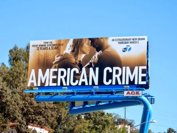American Crime premiere billboard