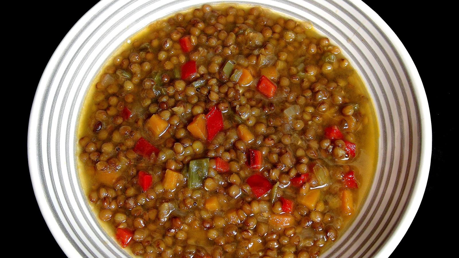 Cocinar para los amigos lentejas for Cocinar lentejas con verduras