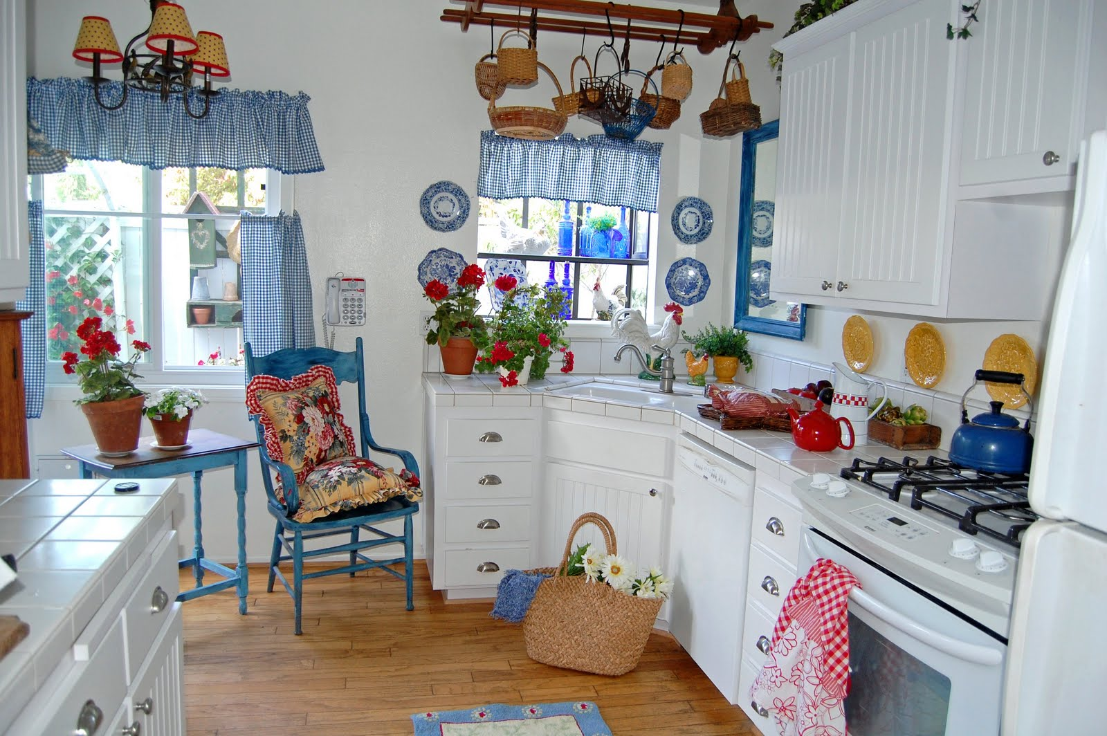 The cheeky seagull love these kitchens for White and blue kitchen ideas