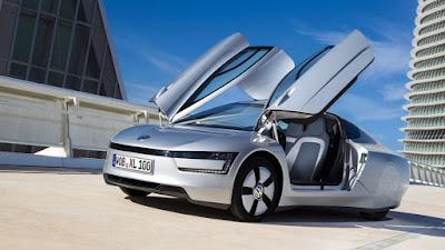 Volkswagen XL1 y su diseño futurista
