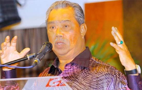 Luahan Muhyiddin kena tendang akibat isu 1MDB