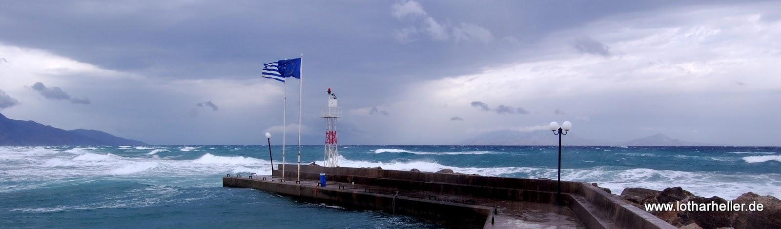 Griechenland Sturm