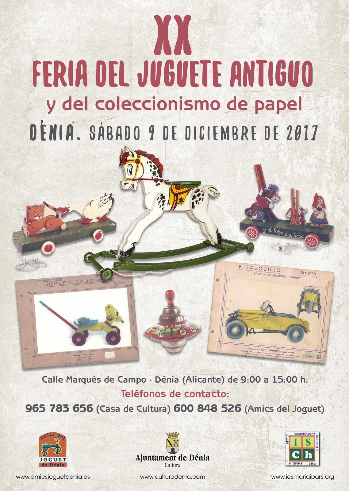 Feria del Juguete antiguo. Dénia
