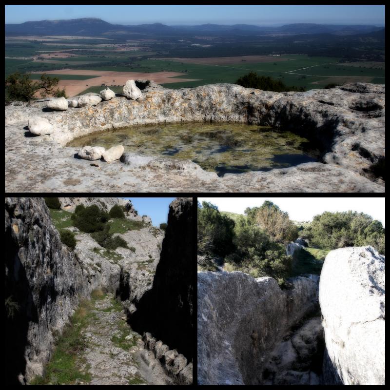 Aljibe. La Curva. Camino Hondo. Castellar de Meca.