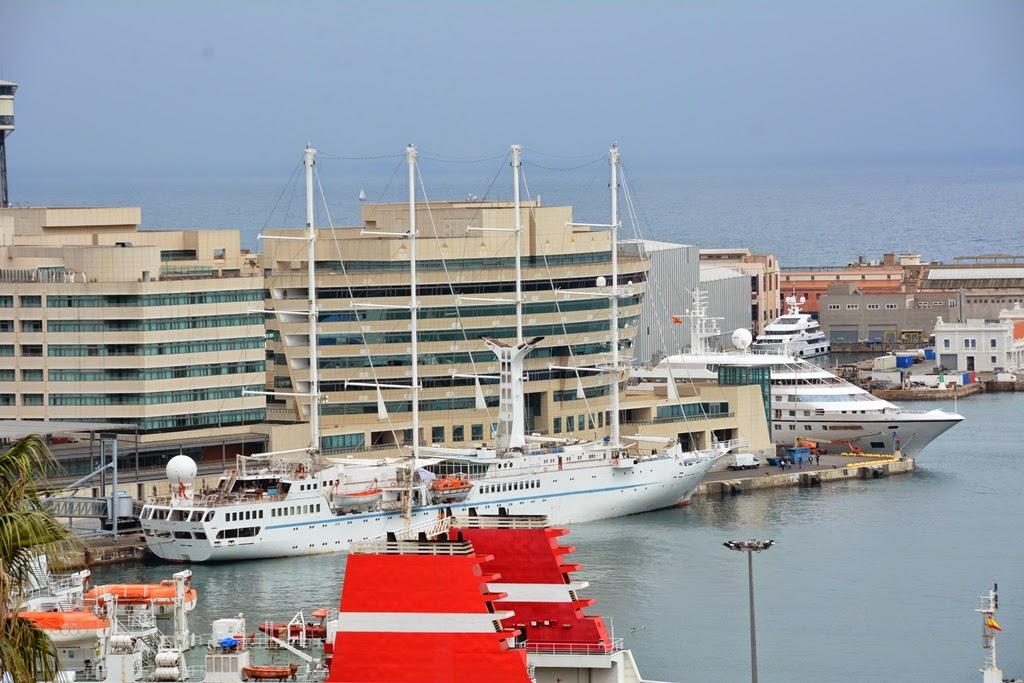 Miramar Barcelona port cruise