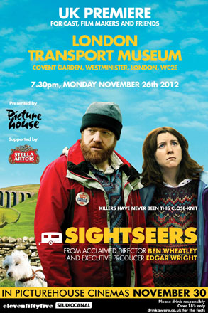 Sightseers film poster