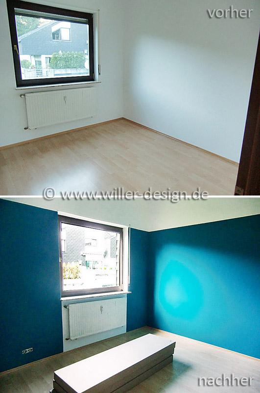 wandfarbe petrol wohnzimmer stempeln scrapbooking papier und mehr wei oder farbe an die - Wandfarbe Petrol