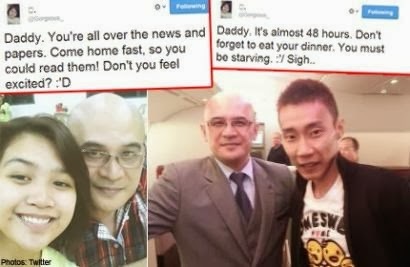 Menyayat Hati, Anak Ketua Paramugara Membuat Tweet 62,400 Kepada Bapanya