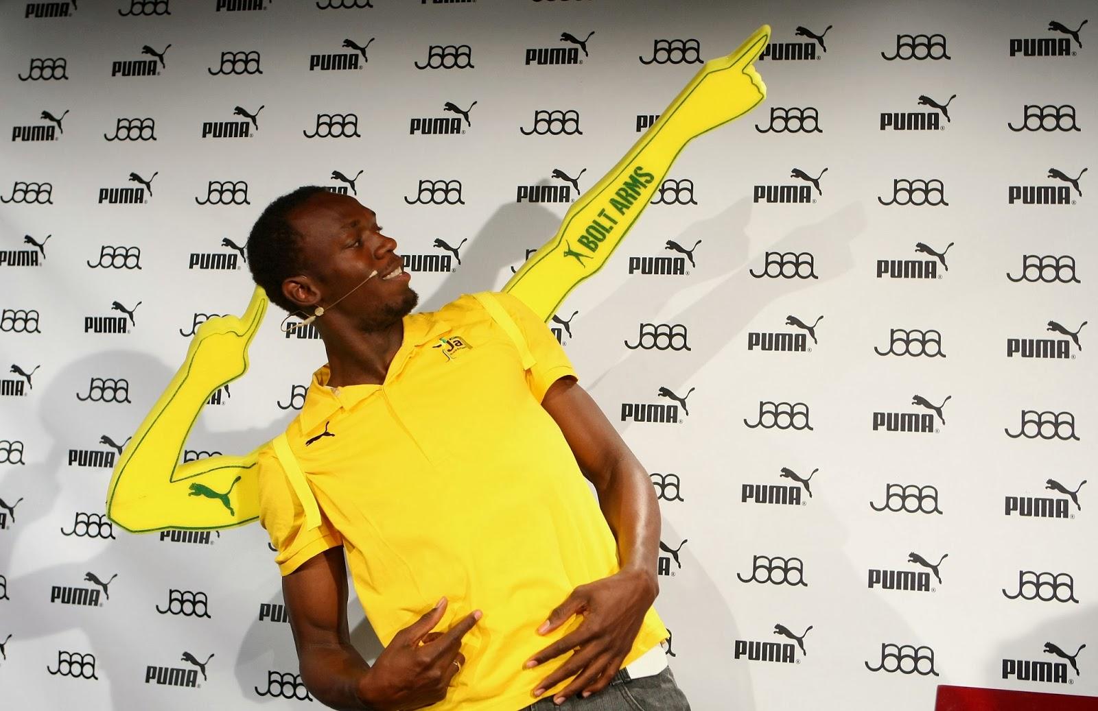 Puma planea ofrecerle un trabajo a Usain Bolt luego de su retiro