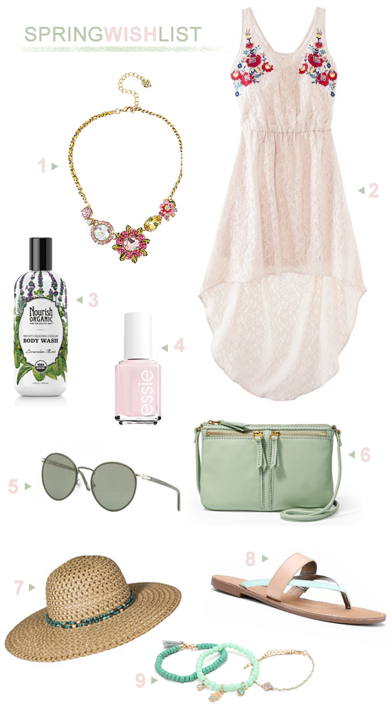 A Spring Wish List (+ Springtime Shopping Savings!)