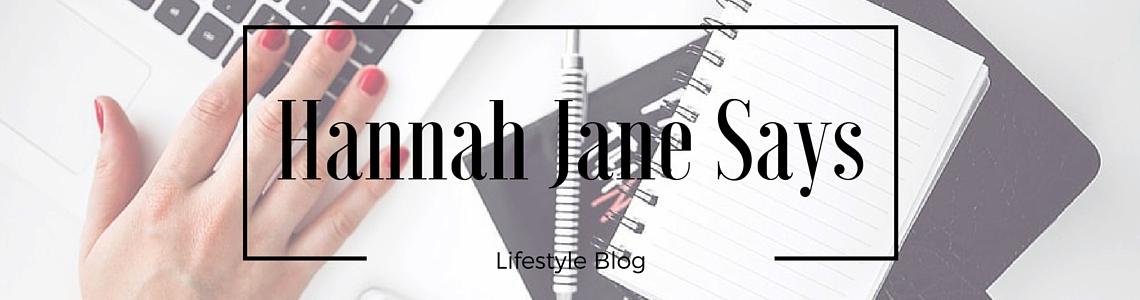 Hannah Jane Says
