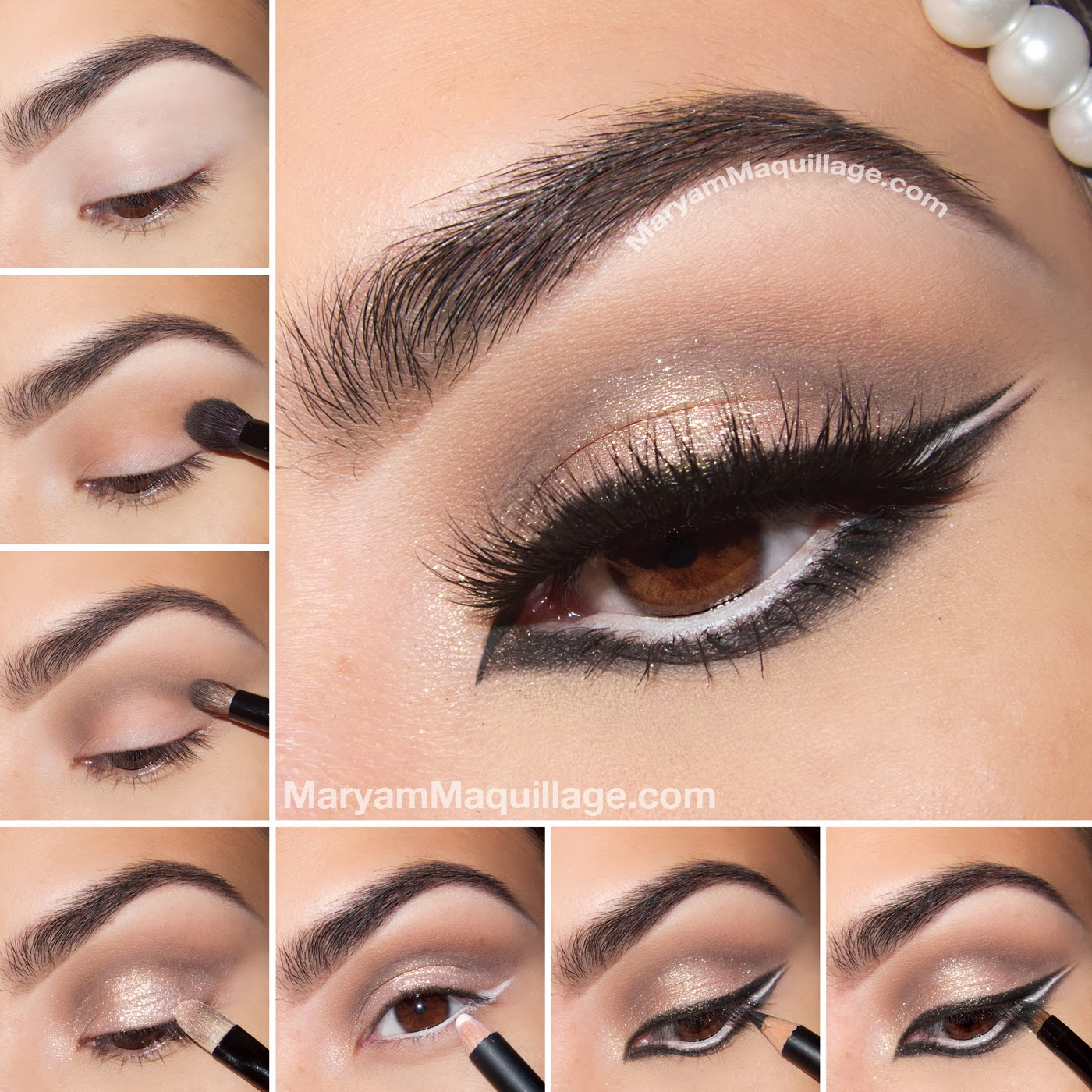 Maryam Maquillage Quot Wintry Exotic Quot Arabic Makeup Tutorial