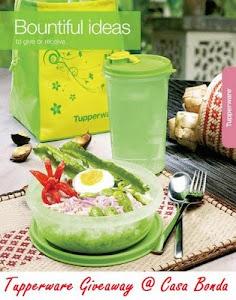 Tupperware Giveaway @ casa bonda